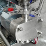 Lobe de Rotor en acier inoxydable liquide/chocolat avec pompe de transfert de la trémie