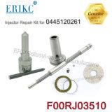 Erikc F00rj03510 KITS DE REPARAÇÃO Injektor Bosch Diesel F 00r J03 510 Dlla Bico153P2210+F00rj02035 Kit de Reparação para o injector 0445120261