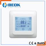 Raum, der elektronischen Thermostat für Bodenheizung erhitzt