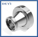 Redutor concêntrico da linha higiênica sanitária do aço inoxidável (DY-R07)