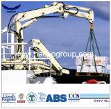 Кран кливера морской палубы корабля гидровлический