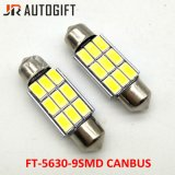 C5w 9LEDs 5730 Girlande Canbus 36/39/41 mm-Auto-Leselampe