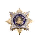 金の記念品の磁気軍のバッジを実行する卸し売りカスタム軍隊の警察のスポーツ