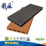 Bois et plancher extérieur en plastique du composé WPC, Decking de WPC