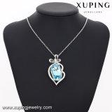 43147 Xuping Shinny diseños de piedra de los cristales de Swarovski Collar Nombre personalizado