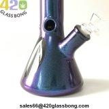 """12 """" unbesonnener Glasdes wasser-Rohr-420 Becher-Glasrohr Rauch-des Rohr-7mm-Thick Babysbreath für Tabak"""