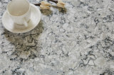 Волна серого 08 2015817 искусственного кварца Calacatta высокого качества