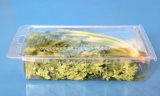 Imballaggio di plastica dell'animale domestico delle coperture superiori di plastica libere dell'erba per le frutta e la verdura