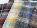 Franela de algodón del hilado de la mezcla Fabric-Lz6132