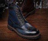 Véritable Cuir de vache Fashion Les jeunes hommes de l'hiver Boot