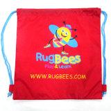 Il sacchetto riutilizzabile di ginnastica del poliestere, il sacchetto di acquisto dello zaino del Drawstring, sacchetto dell'imbracatura di forma fisica, mette in mostra lo Zaino Gymsack, sacco di ginnastica di Gymbag