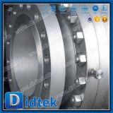 Didtek 2の部分CF8のステンレス鋼のワームギヤ金属によってつけられているトラニオン弁