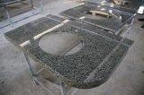 목욕탕을%s 국내 주문을 받아서 만들어진 녹색 대리석 허영 상단