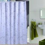 Занавес ливня ткани полиэфира Анти--Mildew для ванной комнаты гостиницы (18S0065)