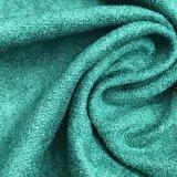 의복 가구 Uphostery 소파를 위한 폴리에스테에 의하여 뜨개질을 하는 스웨드 직물