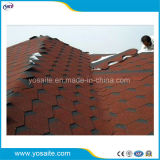 Assicella dell'asfalto di rinforzo vetroresina di stile del mosaico per tetto