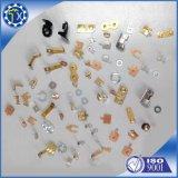 Wholesale Soporte personalizado, acero inoxidable 304 V Clip de botón con forma parte de estampado para poste de la tienda