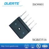 Raddrizzatore a ponte a tre fasi Sgbj 35A 1600V con ISO9001