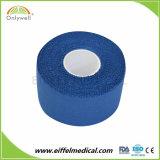 Oxyde de zinc de coton de football de cerclage de ruban adhésif Sports rigide