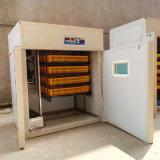 Machine automatique de Hatcher de volaille d'incubateur d'oeufs d'usine approuvée de la CE