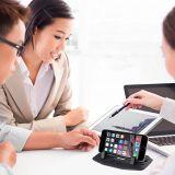 Smartphones 테이블 PC를 위한 Ipow 차 실리콘 패드 대시 매트 셀룰라 전화 마운트 홀더 수화기대 선창 홀더