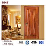 Portelli di legno interni per la camera da letto con lo stipite di portello di legno