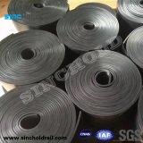 Rail de composite résilient tampons en caoutchouc pour les grues