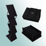 Het zwarte Rek van het Tijdschrift van de Houder van het Boekje van de Plank van de Vertoning van de Brochure van het Ijzer van de Kleur