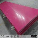 El panel superficial sólido negro de la resina de acrílico del polímero del color