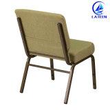 フォーシャンの製造業者の卸売現代快適なファブリックによってパッドを入れられる教会椅子