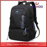 Noir Ristop viagens escolares impermeável Duffel Bag mochila de notebook para homens