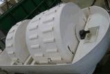 Abwasser-Behandlung-Gerät mit biologischem Rorator