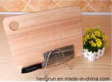 Espaço de aço do bloco de faca universal, lâmina de aço inoxidável Esvaziamento Rack, organizador da faca de cozinha com suporte de placa de corte
