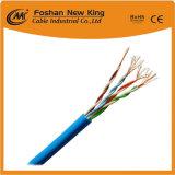 Fábrica OEM Cable de red UTP CAT5 de la comunicación con el cable de alimentación de color gris