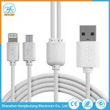 Téléphone portable Personnalisé 2 en 1 Câble de chargeur de données USB