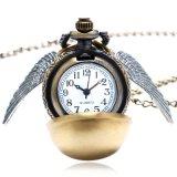 Vigilanza Pocket del quarzo magico dorato antico dello stregone