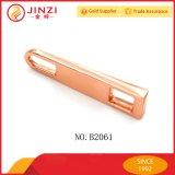 Tenditore della chiusura lampo dell'oro della Rosa del metallo di alta qualità con il cursore per il hardware della borsa