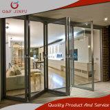 Puerta de plegamiento modificada para requisitos particulares estándar del Multi-Panel de Australia con el perfil de aluminio