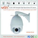 De intelligente IP van de Pan HD en van de Schuine stand Camera van de Koepel PTZ van de Snelheid