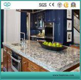 Controsoffitti bianchi/Kitchentops della cucina della pelle della tigre/parti superiori isola di cucina/parte superiore barra della cucina/Bartop su ordinazione