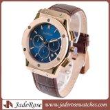 最新のファッション・ウォッチ、男性用ステンレス鋼の水晶腕時計