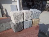 Pierre en pierre de cube en pavé de bord de granit