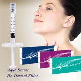 Hyaluronic Säure-Einspritzungen, zum des Derma Lippeneinfüllstutzens zu kaufen