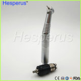 Generatore dentale Handpiece di auto dell'accoppiamento rapido LED Handpiece di Hesperus con indicatore luminoso