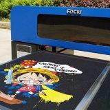Принтер тенниски тканья хлопка цифров цвета размера 6 фокуса A3
