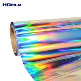 2015 bien de precio popular película de PET holográfico de BOPP metalizado