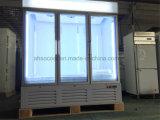 Dreifache Glastür-Handelsgefriermaschine-Kühlraum für Eiscreme-Bildschirmanzeige
