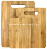Jogo de bambu natural da placa de estaca de 3 partes 100%, bambu
