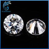 둥근 H&a는 8.0mm를 2개의 캐럿 Gh 색깔 판매를 위한 주식에 있는 백색 Moissanite 다이아몬드 잘랐다