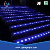 Resistente al agua de la luz de la barra de LED 24*3W exterior IP65 LED Bañador de pared